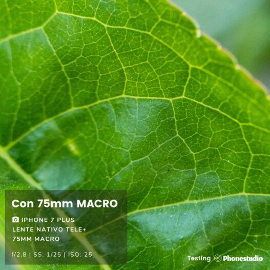 Lente Macro 75mm para Celular Smartphone - Phonestudio Chile