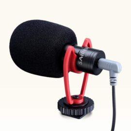 Micrófono para celular smartphone - Micrófono cardioide direccional para cámaras DSLR y Celulares - Phonestudio - Video y Fotografía Mobile - Chile