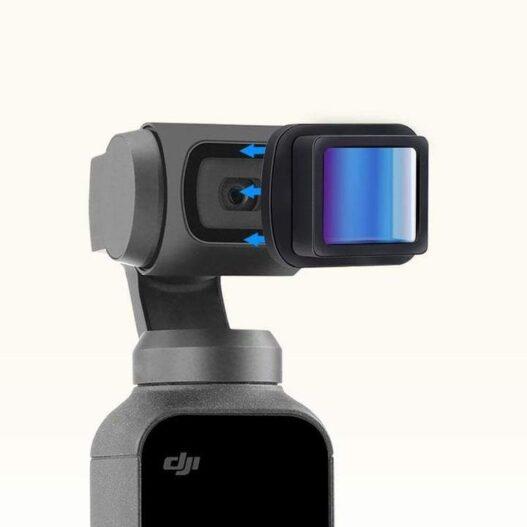 Anamorphic para DJI Osmo Pocket - Phonestudio Chile - Tienda de video y fotografía mobile