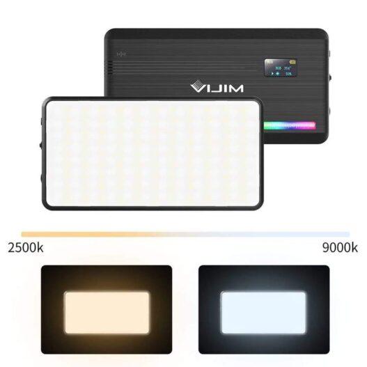 Luz LED RGB - Vijim VL196 - Phonestudio Chile