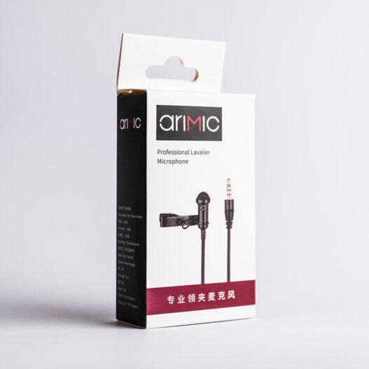 Micrófono Lavalier para celular smartphone - Ulanzi Arimic - Phonestudio Chile